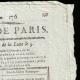 DETAILS  02 | French Revolution - Journal de Paris - Thursday, June 25, 1789 | Bicentennial of the French Revolution