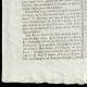DETAILS  03 | French Revolution - Journal de Paris - Thursday, June 25, 1789 | Bicentennial of the French Revolution