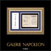 Historiskt Dokument - Franska Revolutionen - 1794 - Nationalkonventet | Lagar i den nationella konventionen av den 31 augusti 1794 (14 Fructidor år II av republiken, en och odelbar)