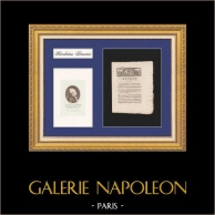 Decree of the National Convention - 1793 - Confiscation of non-compliant Supplies for the Armies - Portrait of Isaac-René-Guy Le Chapelier | Historical Document on laid paper of 1793, Year 2 of the French Republic and Portrait of Isaac René Guy le Chapelier
