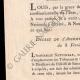 DÉTAILS  07   Décret de l'Assemblée Nationale - 1791 - Révolution Française - Acquisition de la Maison des Augustins de Sancerre