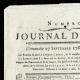 DÉTAILS  01 | Révolution Française - Journal de Paris - Dimanche 27 Septembre 1789 | Portrait de Napoléon (Joseph Chabord)