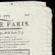 DÉTAILS  02 | Révolution Française - Journal de Paris - Dimanche 27 Septembre 1789 | Portrait de Napoléon (Joseph Chabord)