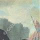 DÉTAILS  06 | Décret - Révolution Française - 1792 - Transport des Convois Militaires | Un Gagnant de la Bastille (Charles Thevenin)