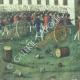 DÉTAILS  07   Décret - Louis XVI - 1791 - Bouton d'uniforme des Gardes Nationales de France   La Prise de la Bastille - Arrestation de M. de Launay (Jean Dubois)