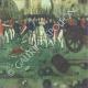 DETAILS  08 | Decree - Louis XVI of France - 1791 - Uniform button of the National Guards of France | The Storming of the Bastille - Arrest of M. de Launay (Jean Dubois)