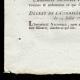 DÉTAILS  03   Décret - Louis XVI - 1791 - Traitement des Maréchaux de France   Portrait de Gilbert du Motier de La Fayette (Joseph-Désiré Court)