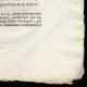 DÉTAILS  04 | Décret - Révolution Française - 1792 - Gratification aux soldats de la Garde soldée du Roi | La Liberté guidant le peuple (Eugène Delacroix)