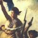 DÉTAILS  06 | Décret - Révolution Française - 1792 - Gratification aux soldats de la Garde soldée du Roi | La Liberté guidant le peuple (Eugène Delacroix)