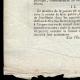 DÉTAILS  03   Décret - Révolution Française - 1794 - Traitement des divers Employés de l'Artillerie   Portrait de Gaspard Monge (1746-1818)