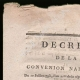DETAILS  01 | Decree - French Revolution - 1793 - Food and maintenance subsidy for soldiers | Tree of Freedom (Jean-Baptiste Lesueur)
