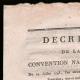 DÉTAILS  01 | Décret - Révolution Française - 1793 - Paiement des appointements des Officiers et soldats blessés | Portrait de La Tour d'Auvergne (1743-1800)