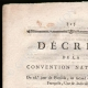 DETAILS  01 | Decree - French Revolution - 1794 - Dutch officers | Creation of the Tricolor Flag