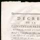 DETTAGLI  01 | Decreto - Rivoluzione Francese - 1793 - Elenco di Ufficiali, civili e militari | Bonaparte - Campagna d'Egitto