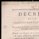 DÉTAILS  01   Décret - Révolution Française - 1794 - Réquisition des Troupes de la Cavalerie et de la Marine   Portrait de Napoléon Bonaparte (1769-1821)