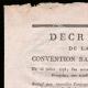 DÉTAILS  01   Décret - Révolution Française - 1793 - Nouvelles compagnies de canonniers   Portrait de Pierre Daumesnil (1776-1832)