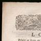 DÉTAILS  01 | Décret - Révolution Française - 1792 - Transports militaires | Portrait de Ladislas Ignace de Bercheny (1689-1778)