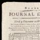 DETTAGLI  01 | Luigi XVI di Francia - Journal de Paris - Martedì, 9 Dicembre 1788 | Ritratto di Charlotte Corday (Tony Robert-Fleury)