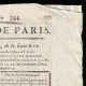 DETTAGLI  02 | Luigi XVI di Francia - Journal de Paris - Martedì, 9 Dicembre 1788 | Ritratto di Charlotte Corday (Tony Robert-Fleury)