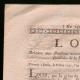 DÉTAILS  01   Décret - Révolution Française - 1792 - Pension des Invalides de la Marine   Portrait de Pierre Daumesnil (1776-1832)