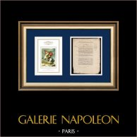 Decreto - Revolución Francesa - 1792 - Soldados de la Guardia Nacional de París | Napoleón en el paso de San Bernardo (Jacques-Louis David) | Decreto N°2205 de la Asamblea Nacional del año 1792