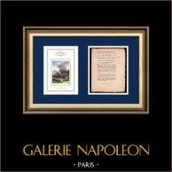Décret - Révolution Française - 1792 - Paiement des troupes  de l'intérieur | Napoléon Bonaparte au Pont d'Arcole (Horace Vernet) | Décret N°47 de l'Assemblée Nationale du 3 Septembre 1792, l'An 4 de la Liberté