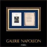 Décret - Révolution Française - 1792 - Paiement des troupes  de l'intérieur | Portrait de Napoléon Bonaparte au Pont d'Arcole (Antoine-Jean Gros) | Décret N°47 de l'Assemblée Nationale du 19 Août 1792, l'An 4 de la Liberté