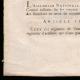 DÉTAILS  03 | Décret - Louis XVI - 1791 - Défense des frontières | Discours de Camille Desmoulins au Palais Royal (12 juillet 1789)