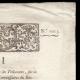DETAILS  02   Decree - Louis XVI of France - 1791 - King's commissioners   Portrait of Louis Antoine de Saint-Just (1767-1794)