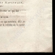 DETAILS  04   Decree - Louis XVI of France - 1791 - King's commissioners   Portrait of Louis Antoine de Saint-Just (1767-1794)