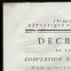 DETAILS  01 | Decree - French Revolution - 1793 - Bankruptcy of the Rohan-Guémené | Portrait of Antoine Barnave (1761-1793)