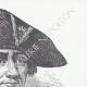 DÉTAILS  06   Décret - Révolution Française - 1793 - Échange des Prisonniers de Guerre   Portrait de Jean-Baptiste Drouet d'Erlon (1765-1844)