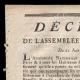 DÉTAILS  01 | Décret - Louis XVI - 1791 - Fuite de Varennes | La Mort de Marat (Jacques-Louis David)