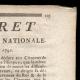 DÉTAILS  02 | Décret - Louis XVI - 1791 - Fuite de Varennes | La Mort de Marat (Jacques-Louis David)