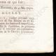DÉTAILS  04 | Décret - Louis XVI - 1791 - Receveurs généraux des Finances et des Impositions | Portrait de Gilbert du Motier de La Fayette (1757-1834)