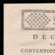 DETAILS  01 | Decree - French Revolution - 1792 - Municipalities request authorization to purchase national buildings | Portrait of Gilbert du Motier de La Fayette (1757-1834)