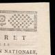 DETAILS  02 | Decree - French Revolution - 1792 - Municipalities request authorization to purchase national buildings | Portrait of Gilbert du Motier de La Fayette (1757-1834)