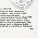 DETAILS  08 | Decree - French Revolution - 1792 - Municipalities request authorization to purchase national buildings | Portrait of Gilbert du Motier de La Fayette (1757-1834)