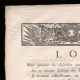DÉTAILS  01 | Décret - Louis XVI - 1790 - Désordres commis par les ci-devant soldats des troupes Belges | La Mort de Marat (Jacques-Louis David)