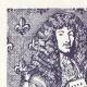 DÉTAILS  05 | Edit du Roi - Louis XIV - 1714 - Trésoriers de l'Extraordinaire des Guerres | Louis XIV et le Château de Versailles