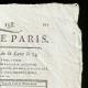 DÉTAILS  02   Révolution Française - Journal de Paris - Dimanche 7 Juin 1789   Portrait de Louis Marie Marc Antoine de Noailles (1756-1804)