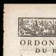 DÉTAILS  01   Ordonnance - Louis XV - 1760 - Recrues pour compléter les Troupes   Portrait de Louis XV (Louis-Michel van Loo)
