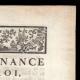 DÉTAILS  02   Ordonnance - Louis XV - 1760 - Recrues pour compléter les Troupes   Portrait de Louis XV (Louis-Michel van Loo)