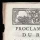 DÉTAILS  01 | Proclamation du Roi - Louis XVI - 1790 - Chasse dans le Parc de Versailles | La Prise de la Bastille - Arrestation de M. de Launay (Jean Dubois)