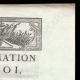 DÉTAILS  02 | Proclamation du Roi - Louis XVI - 1790 - Chasse dans le Parc de Versailles | La Prise de la Bastille - Arrestation de M. de Launay (Jean Dubois)