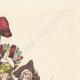 DÉTAILS  06 | Déclaration du Roi - Louis XVI - 1789 - Vacance des Parlements du Royaume | Caricature de la Révolution Française - Le Voeux Accompli