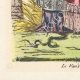 DÉTAILS  07 | Déclaration du Roi - Louis XVI - 1789 - Vacance des Parlements du Royaume | Caricature de la Révolution Française - Le Voeux Accompli