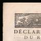 DÉTAILS  01   Déclaration du Roi - Louis XVI - 1789 - Vacance des Parlements du Royaume   Caricature de la Révolution Française - J'y vais aux Jacobins...