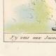 DÉTAILS  07   Déclaration du Roi - Louis XVI - 1789 - Vacance des Parlements du Royaume   Caricature de la Révolution Française - J'y vais aux Jacobins...