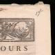 DÉTAILS  02 | Décret - Louis XVI - 1790 - Discours du Roi à l'Assemblée nationale | Caricature de la Révolution Française - Fraternité des Soldats
